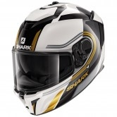 Spartan GT Tracker White / Black / Gold
