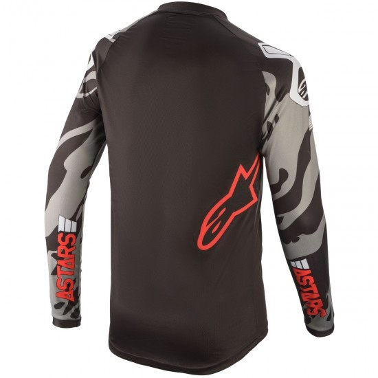 Jersey ALPINESTARS Racer Tech 2020 San Diego 20 LE Black / Gray / Red