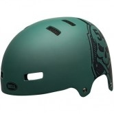 BELL Local Skull Matte Green / Black