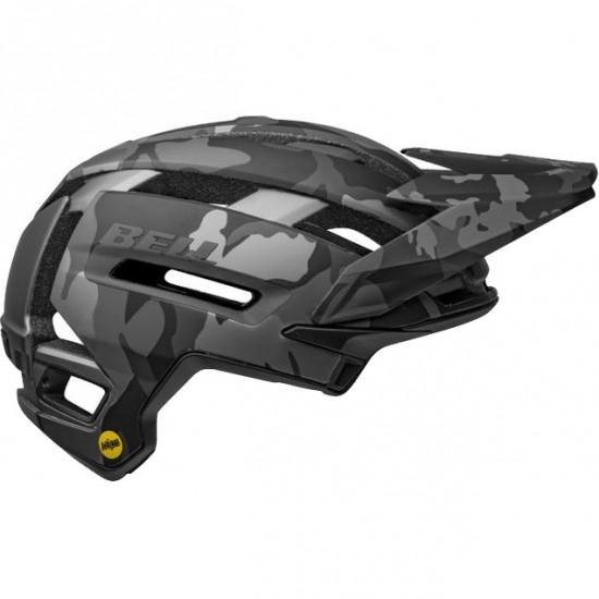 Capacete BELL Super Air Mips Matte - Gloss Black Camo