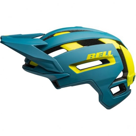 Casco BELL Super Air Mips Matte - Gloss Blue / Hi-Viz