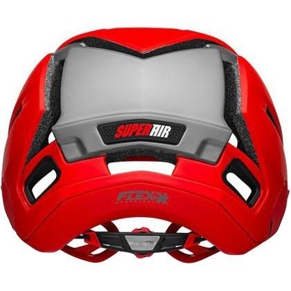 Super Air Mips Matte - Gloss Red / Grey
