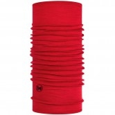 BUFF Midweight Merino Wool Solid Red