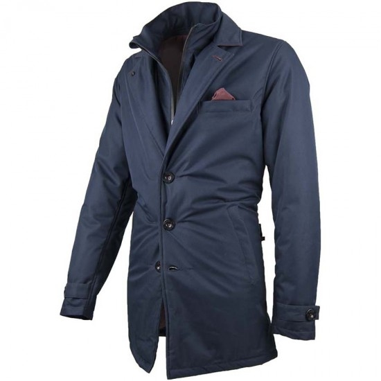 Blouson BY CITY Trench Coat Blue