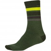 ENDURA Baabaa Merino Stripe Forest Green