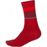 Baabaa Merino Stripe Red