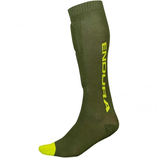 Calcetines ENDURA Singletrack Shin Guard Forest Green