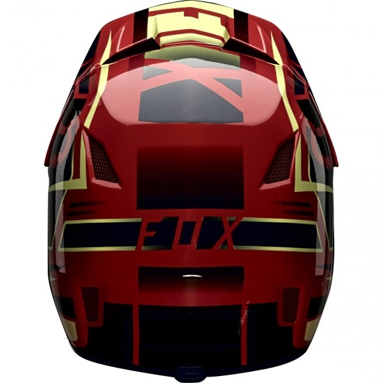 Casque FOX Rampage Comp Reno LE Bright Red