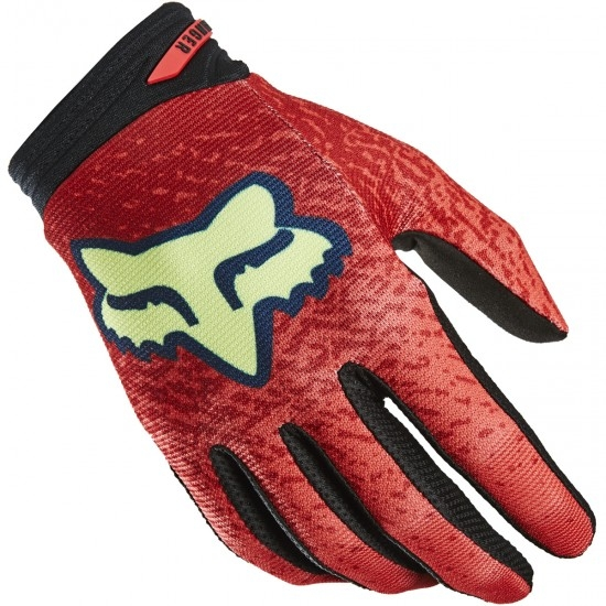 Guantes FOX Ranger Reno LE Bright Red
