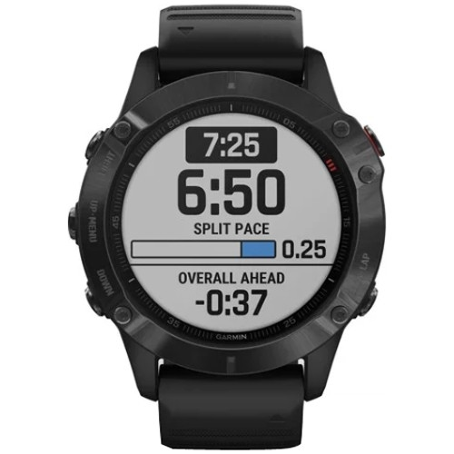 GARMIN Fēnix 6 Pro Black with Black Band Odometer