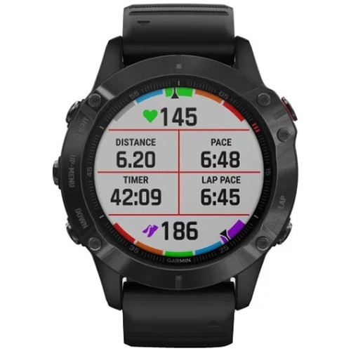 Kilometerzähler GARMIN Fēnix 6 Pro Black with Black Band