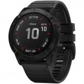 GARMIN Fēnix 6X Pro Black with Black Band