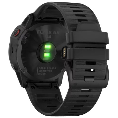 Kilometerzähler GARMIN Fēnix 6X Pro Black with Black Band