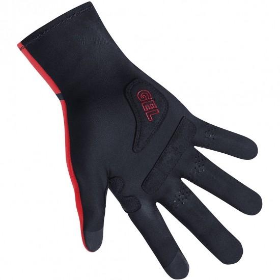 Guantes GORE C3 Gore-Tex Infinium Stretch Mid Black / Red