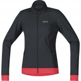 GORE C3 Gore Windstopper Thermo Lady Black / Hibiscus Pink
