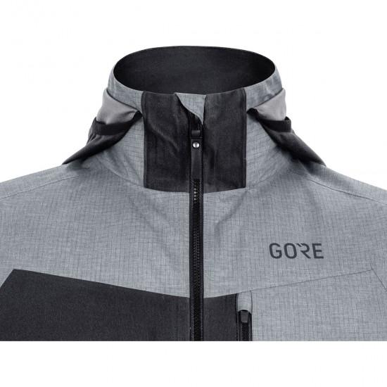 Chaqueta GORE C5 Gore-Tex Infinium Hybrid Black / Terra Grey