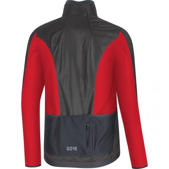 Chaqueta GORE C5 Gore-Tex Infinium Soft Lined Thermo Black / Red