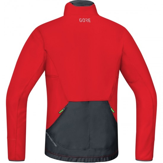 Veste GORE C5 Gore Windstopper Thermo Trail Red / Black
