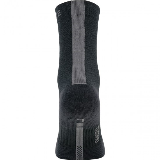 Chaussettes GORE M Thermo Mid Black / Graphite Grey