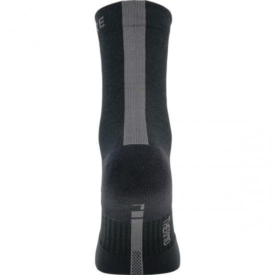 Calcetines GORE M Thermo Mid Black / Graphite Grey