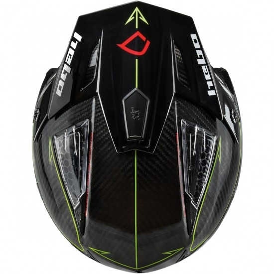 Casco HEBO Zone 4 Carbotech Lime