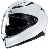 HJC F70 Metal White