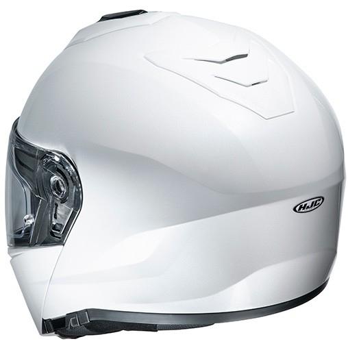 Casco HJC i 90 Solid White