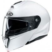 HJC i 90 Solid White