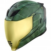 ICON Airflite Battlescar 2 Green