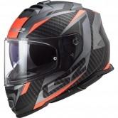 LS2 FF800 Storm Racer Matt Titanium / Fluo Orange
