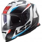 LS2 FF800 Storm Racer Blue / Red
