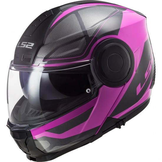 Casco LS2 FF902 Scope Axis Black / Pink