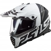 LS2 MX436 Pioneer Evo Evolve Matt White / Black