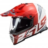 LS2 MX436 Pioneer Evo Evolve Red / White
