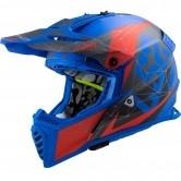 MX437 Fast Evo Alpha Matt Blue