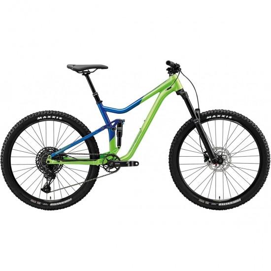 "Bici da montagna MERIDA One-Forty 400 27,5"" 2020 Green / Blue"