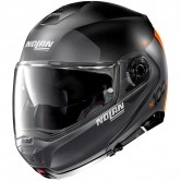 NOLAN N100-5 Plus Distinctive N-Com Flat Black / Orange