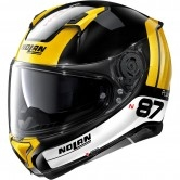 NOLAN N87 Plus Distinctive N-Com Black / Yellow