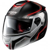 NOLAN N90-2 Meridianus N-Com Flat Black / Red