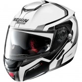 NOLAN N90-2 Meridianus N-Com Metal White