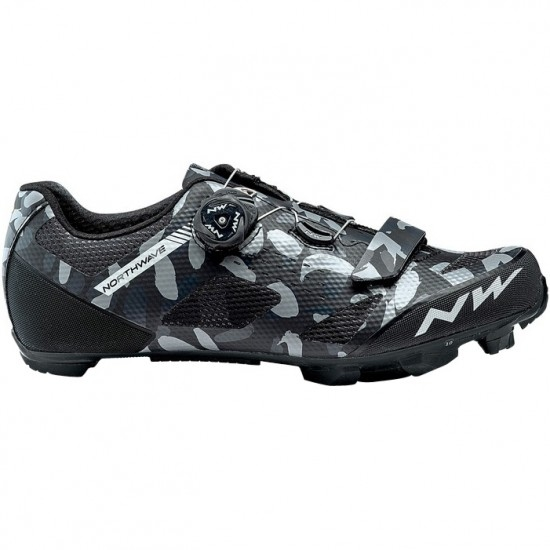 Schuhe NORTHWAVE Razer Camo / Black