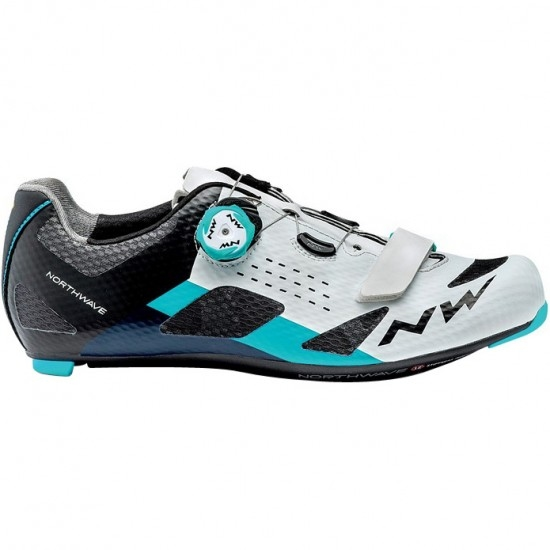 Zapatillas NORTHWAVE Storm Carbon White / Blue