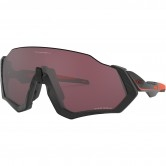 OAKLEY Flight Jacket Matte Black / Red / Prizm Road Black
