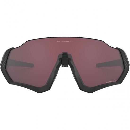 OAKLEY Flight Jacket Matte Black / Prizm Road Black Mask / Goggle