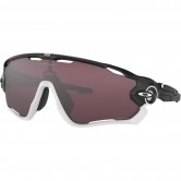 OAKLEY Jawbreaker Matte Black / White / Prizm Road Black