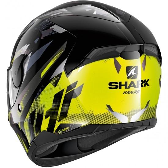 Casco SHARK D-Skwal 2 Kanhji Black / Yellow / Anthracite