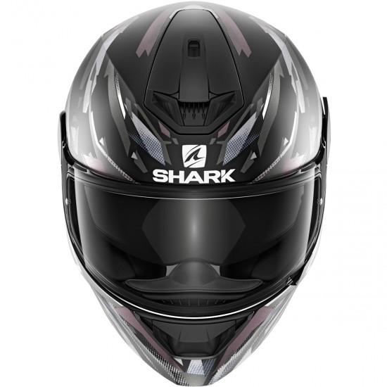 Casco SHARK D-Skwal 2 Kanhji Mat Black / White / Anthracite