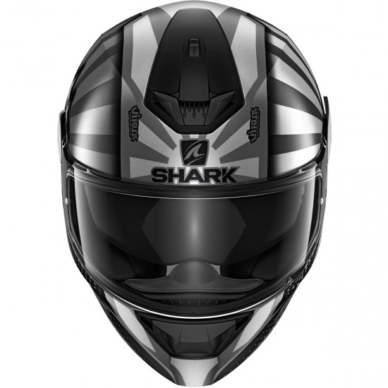 Casco SHARK D-Skwal 2 Replica Zarco Anthracite / Silver / Anthracite