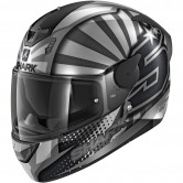 SHARK D-Skwal 2 Replica Zarco Anthracite / Silver / Anthracite