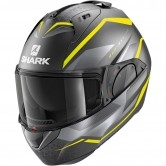 SHARK Evo-Es Yari Mat Anthracite / Yellow / Silver